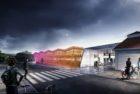 «Sykkelhjulet» og 30 andre forslag har kommet inn i konkurransen Sykkelhotellene kommer!, som danner grunnlag for etablering av nye innendørs parkeringsfasiliteter i Oslo og Bærum i årene framover.