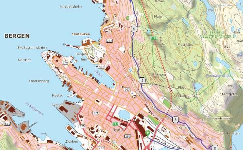 Alvorlig Fjellveien, Bergen — Syklistene JA-07