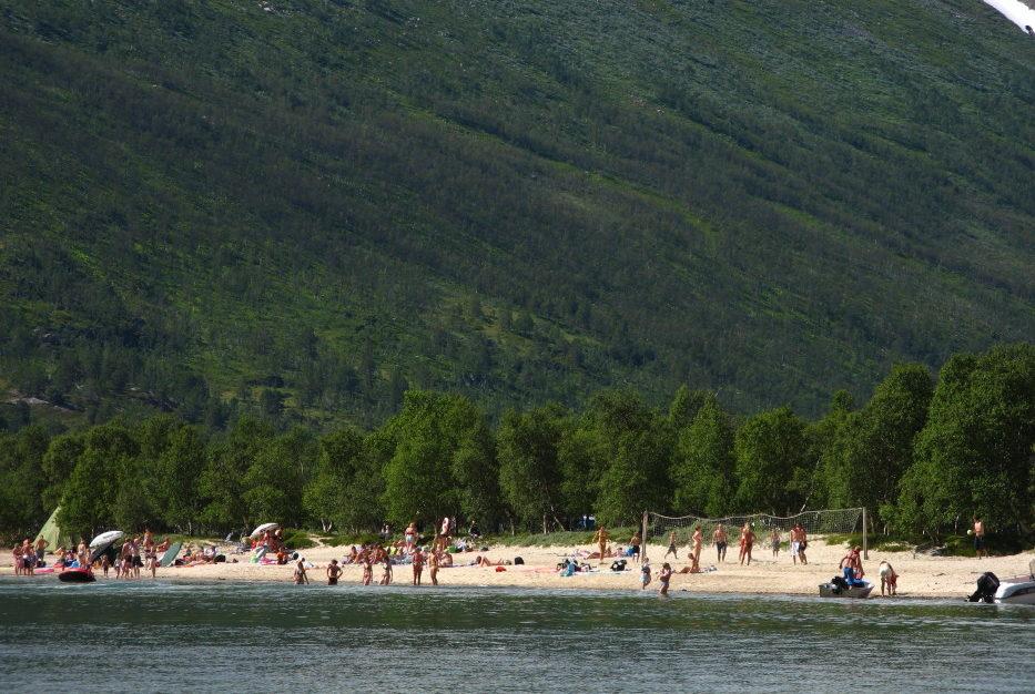Stranden på Raudøra